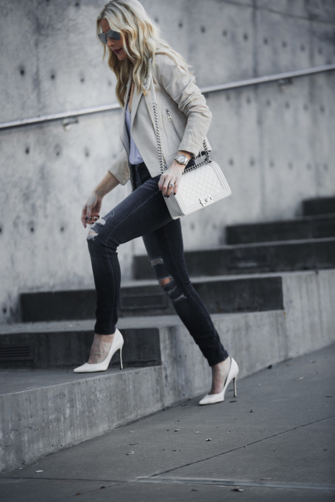 White Pumps, Heather Anderson, Style Blogger