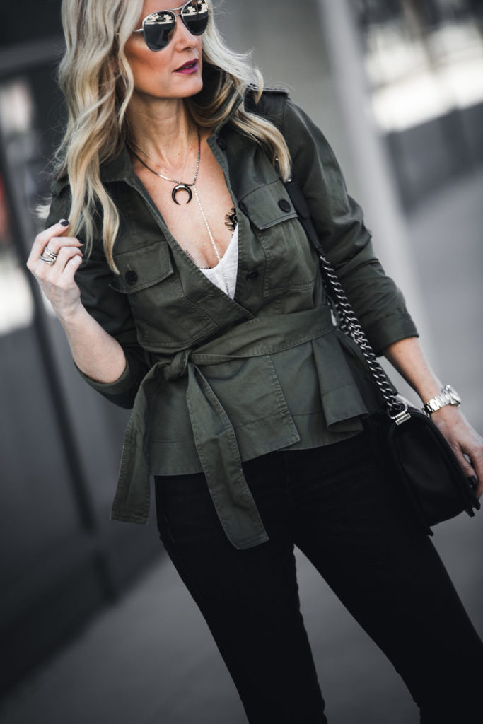 THE UPDATED ARMY JACKET:  HOW YOU SHOULD WEAR IT DEPENDING ON YOUR BODY TYPE + $500 GIVEAWAY TO NORDSTROM