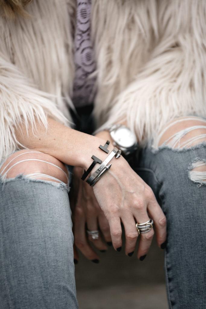 Fashion Blogger, Accessories Under $30, Metal Cuff