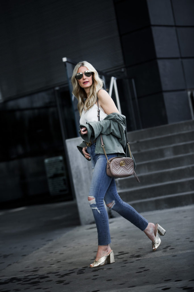 ARMY JACKET STYLED 2 WAYS + SEVERAL PIECES UP TO 25% OFF