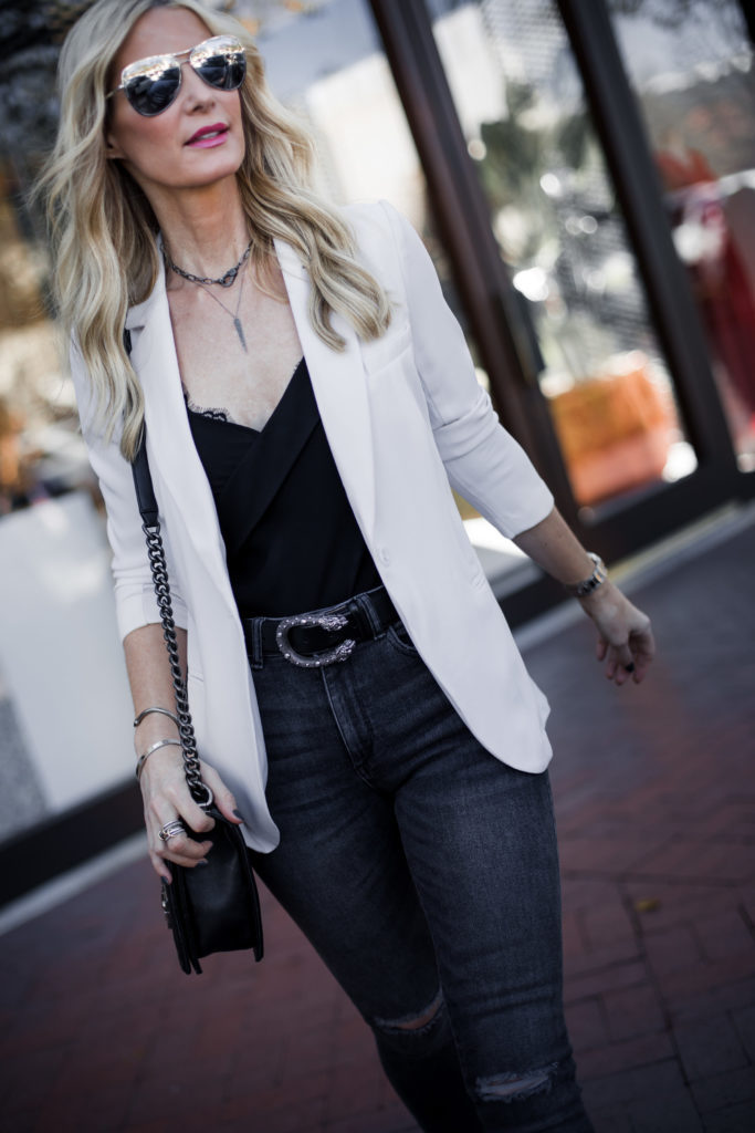 Gucci Belt, Style Blogger, Pink Blazer