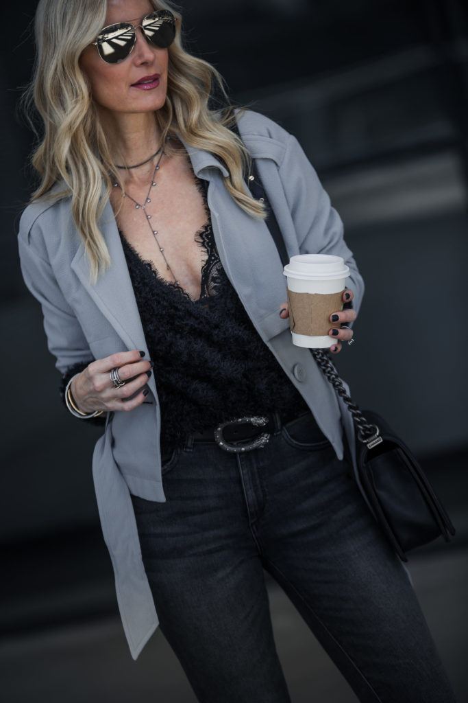 Anine Bing Bra, Heather Anderson, Dallas Fashion Blogger