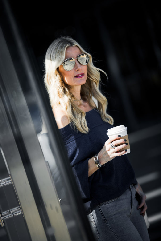 Off the Shoulder Top, So Heather, Style Blogger