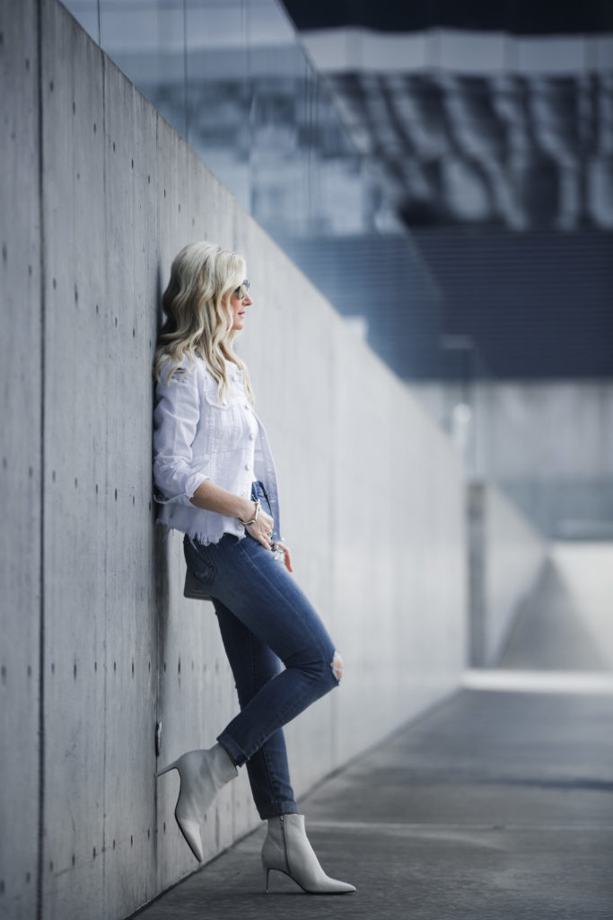 White Booties, Mother Jeans, Heather Anderson