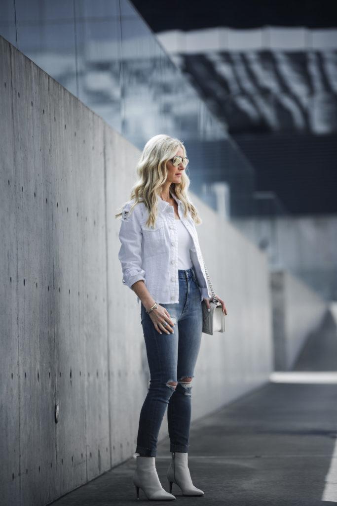 Rag and Bone White booties, So Heather, Dallas Fashion Blogger