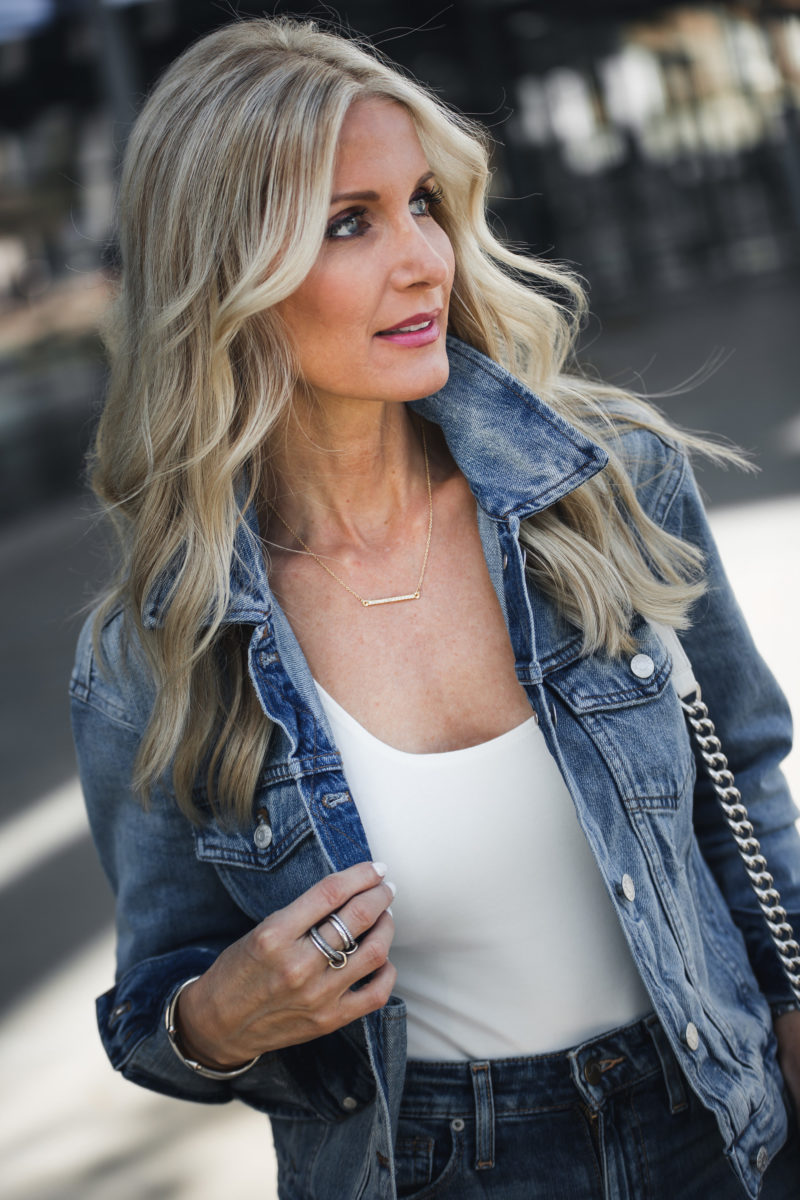DOUBLE DENIM + SKIN SERUM THAT ACTUALLY WORKS + $700 GIVEAWAY TO NORDSTROM