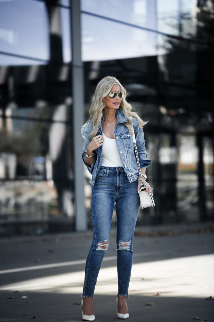 Double Denim spring outfit