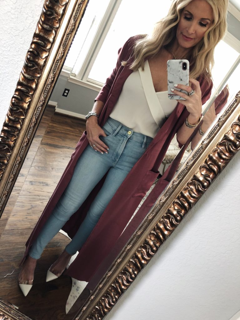 Spring Outfit worn by Dallas Fashion Blogger Heather Anderson
