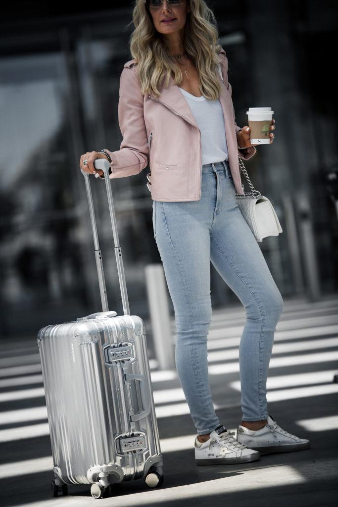 Dallas Fashion Blogger featuring Ricardo Luggage