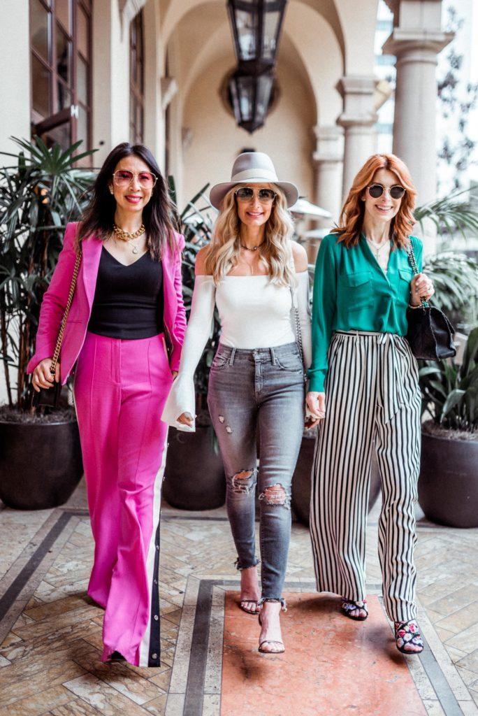 Dallas Fashion Bloggers in LA