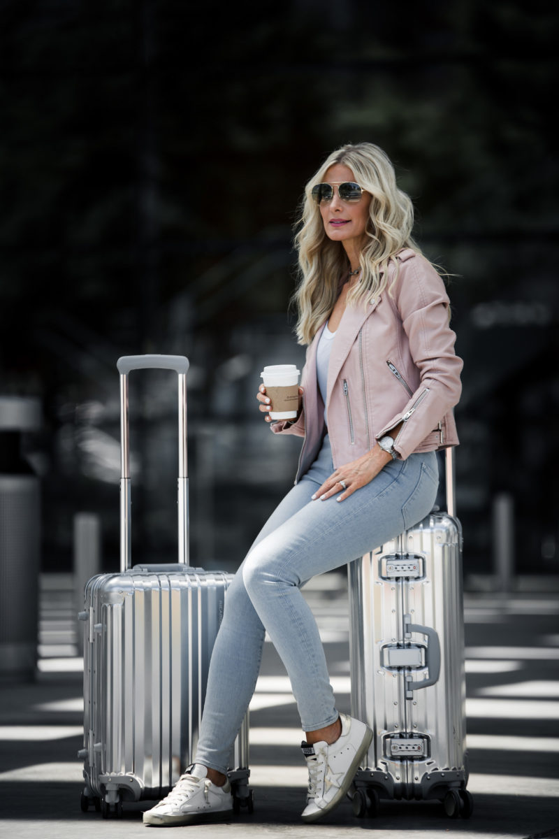 TRAVEL LOOK TO PARIS + THE CHICEST LUGGAGE EVER