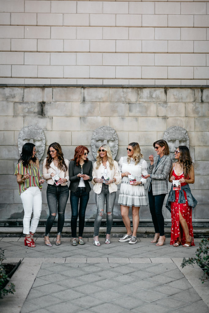 Dallas Style Bloggers eating healthy chocolate