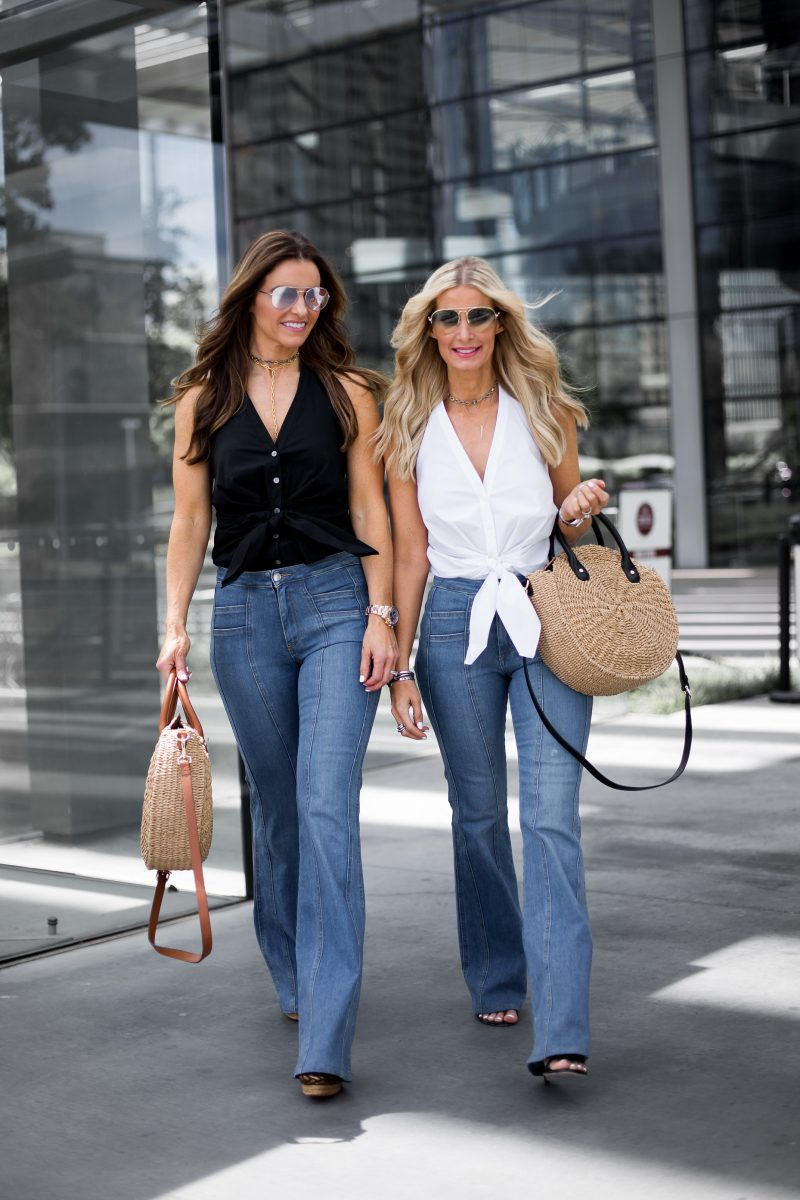 THE STREET EDIT FEATURING THE MOST FLATTERING JEANS EVER