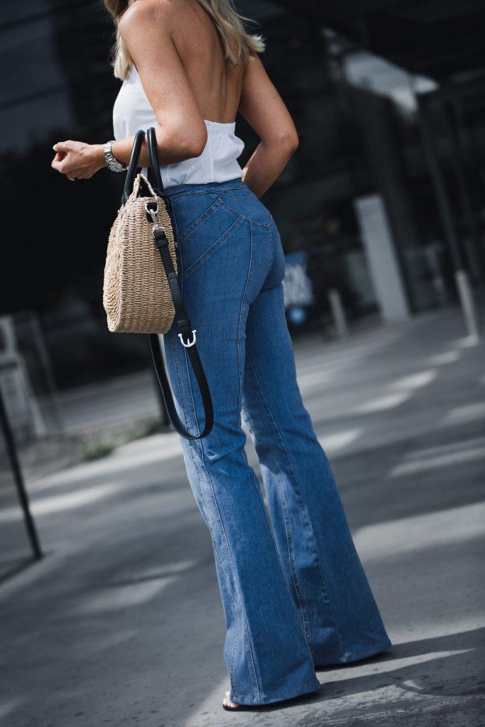 Veronica beard flare jeans