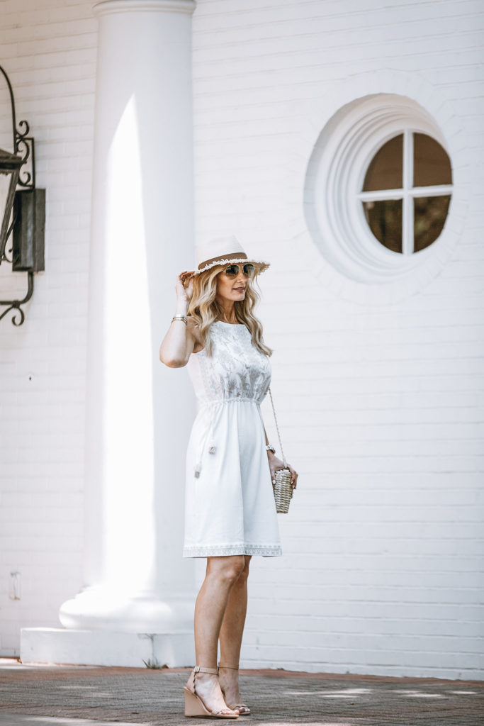Dallas Fashion Blogger Wearing J Jill Dress