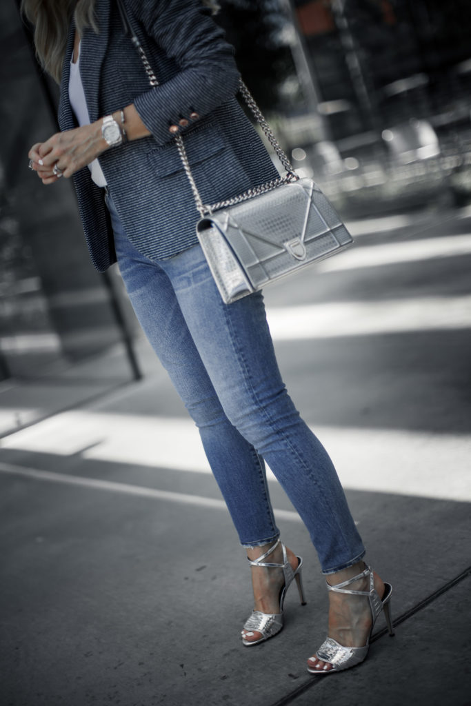 Dior handbag and Veronica Beard Heels