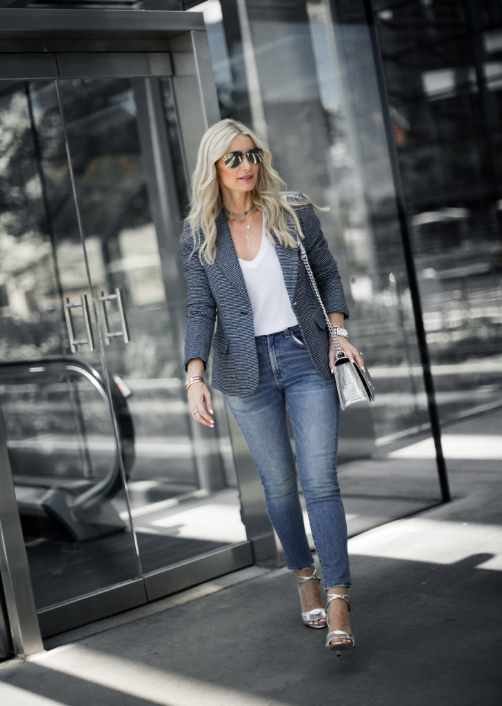 Dallas Fashion Blogger wearing Ivanka Trump blazer