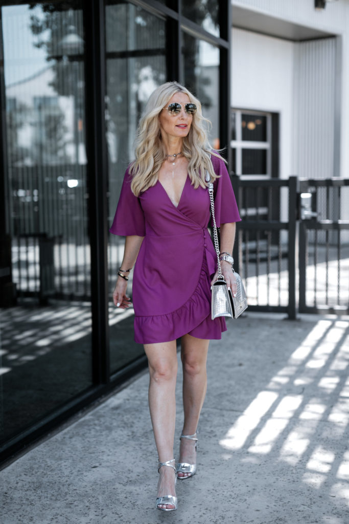 The wrap dress and how to wear it