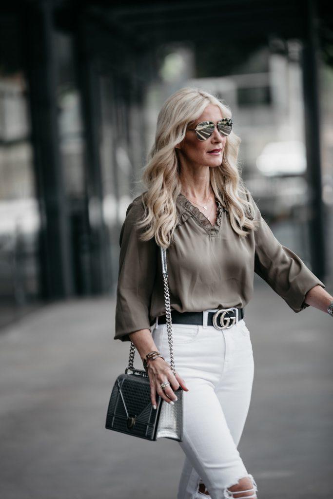 How to style a Dior handbag