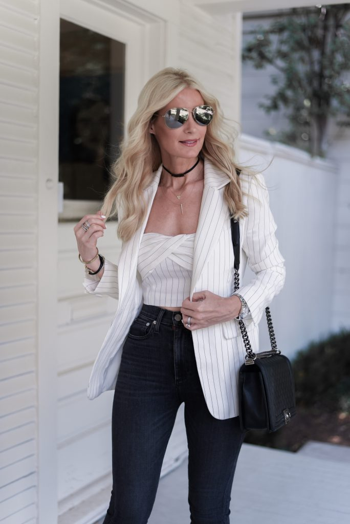 5 ways to wear a white blazer