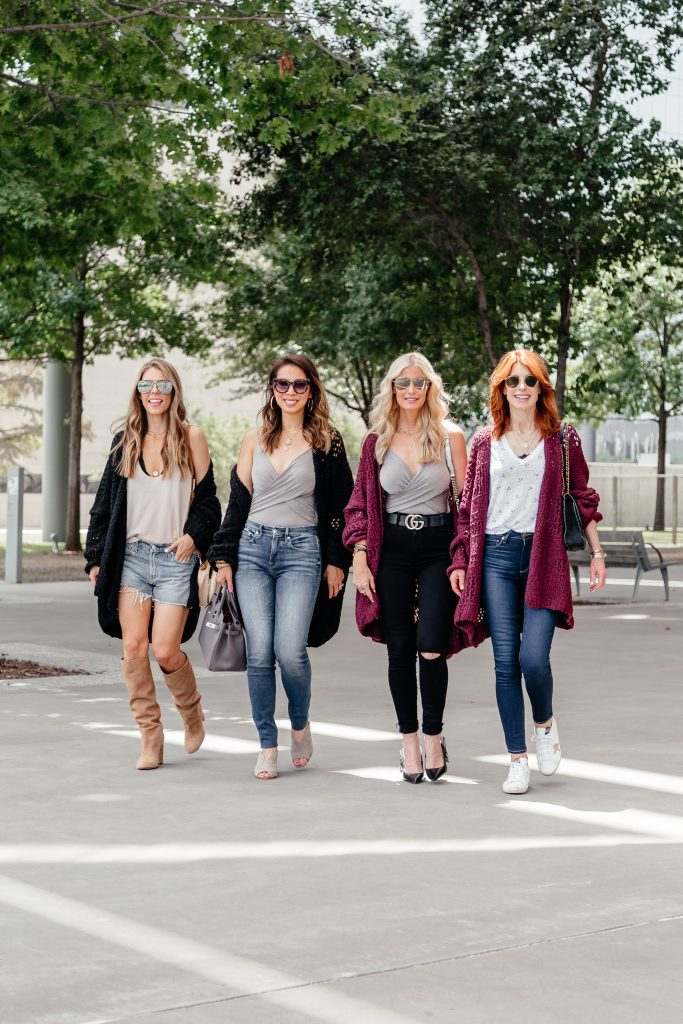 Fall Cardigan outfits in Dallas, TX