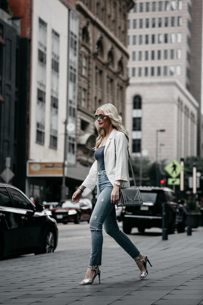 THE PERFECT JACKET TO TAKE YOU INTO FALL + 3 REASONS BODYSUITS ARE SO AMAZING