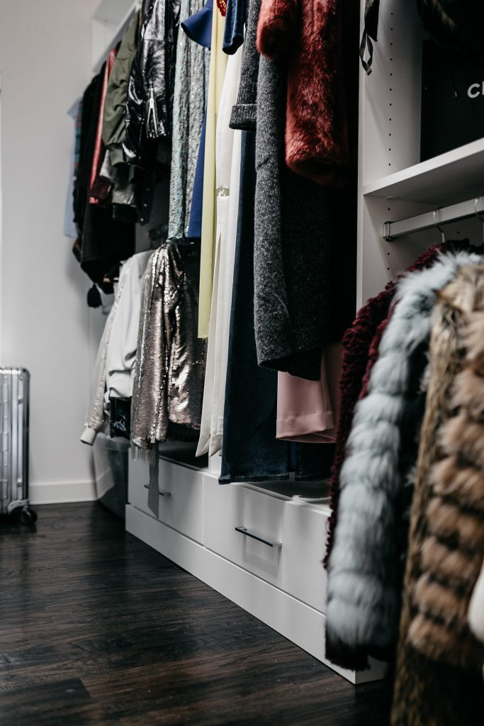 how to organize your hall closet