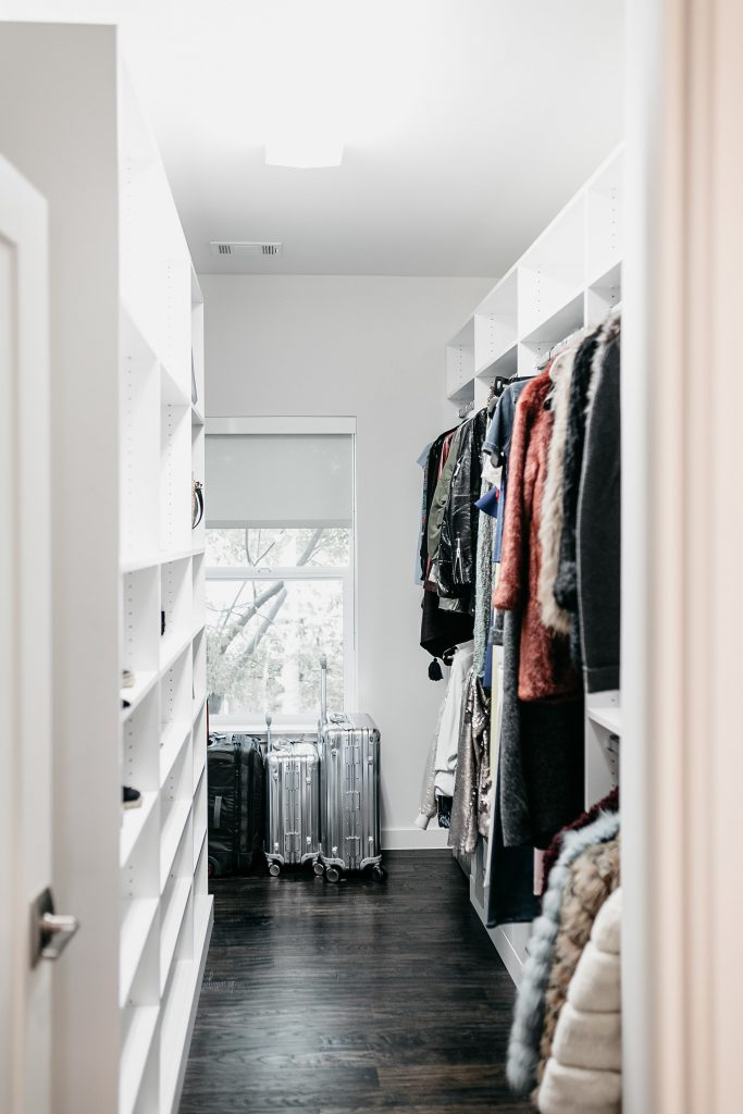 Hall closet makeover ideas