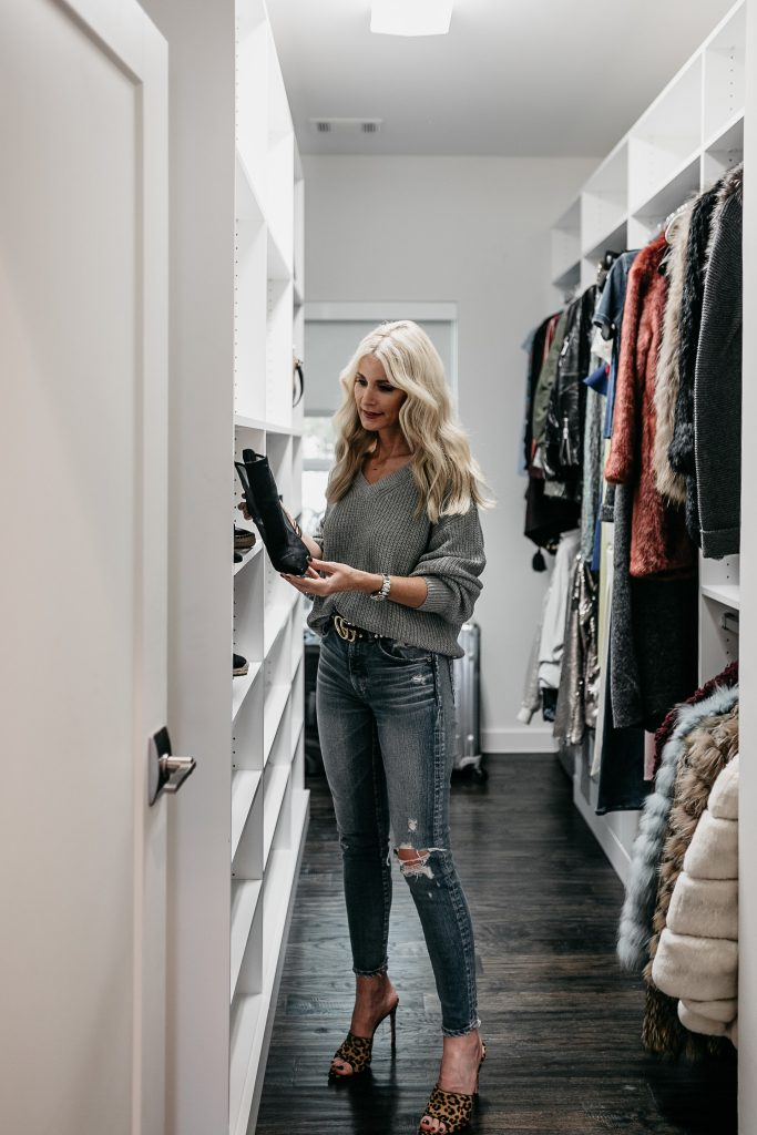 Hall closet makeover ideas with California Closets