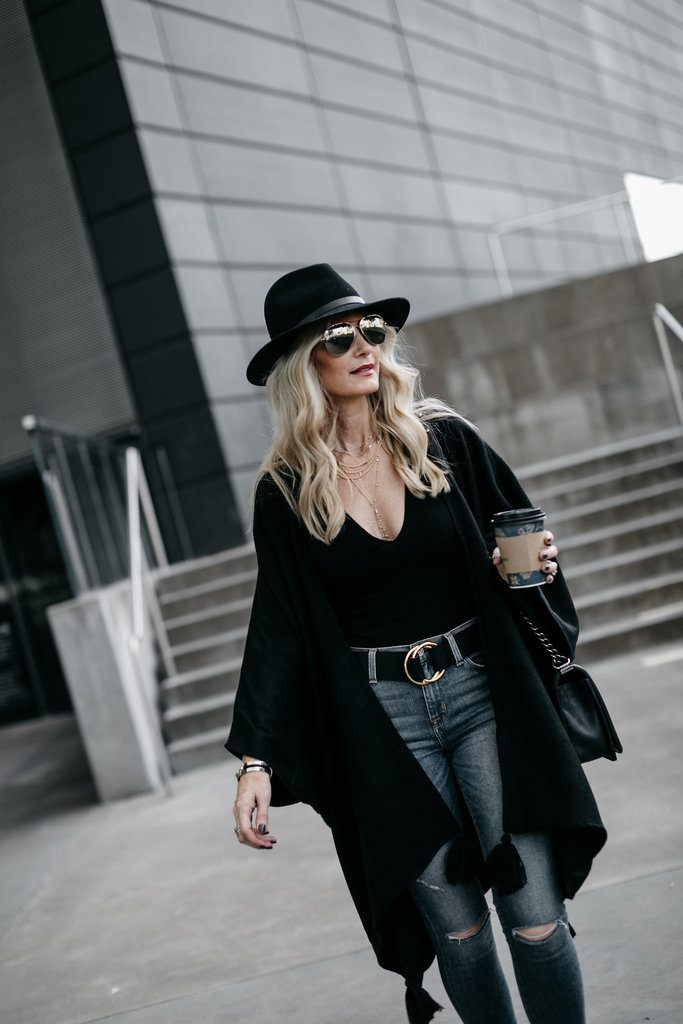 Dallas Style blogger wearing Rag and Bone fedora hat