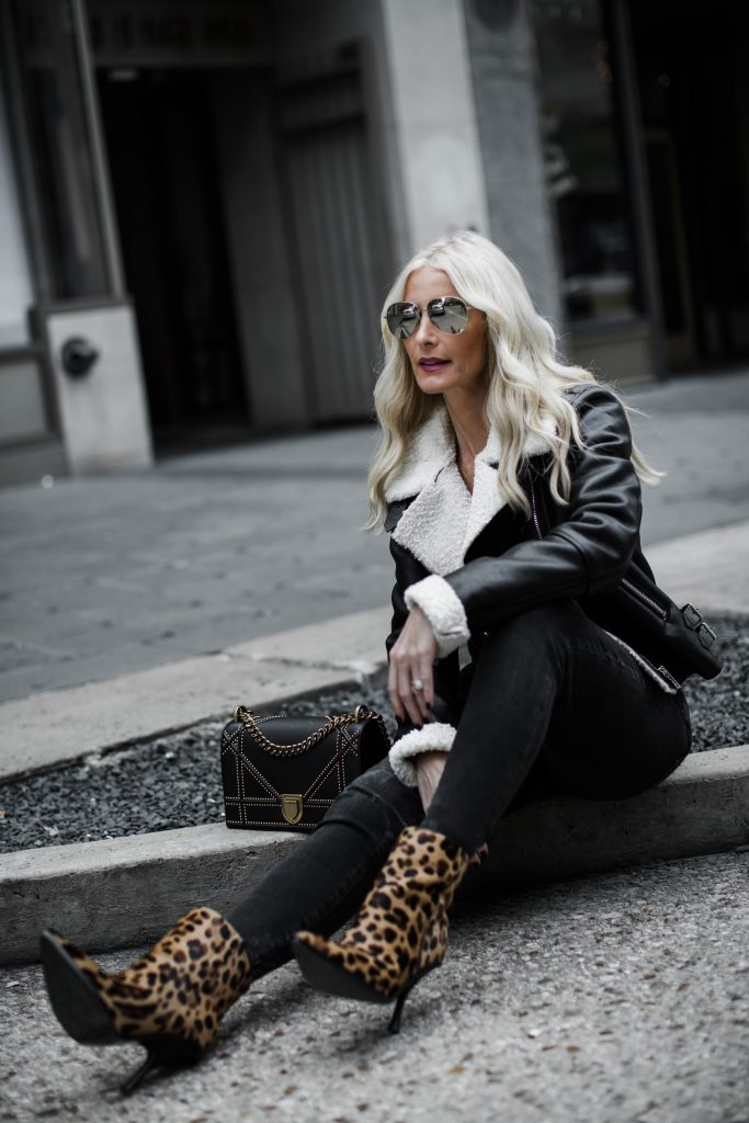 How to style leopard booties