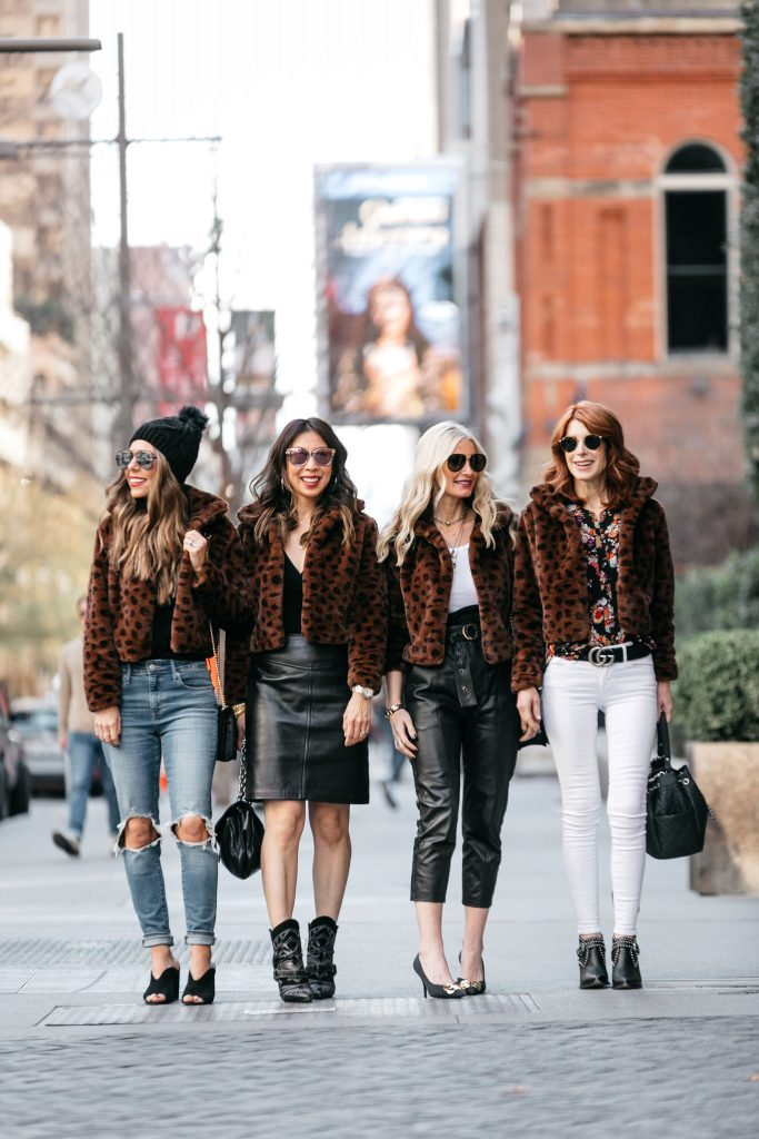 CHIC AT EVERY AGE FEATURING THE LEOPARD TEDDY COAT UNDER $100