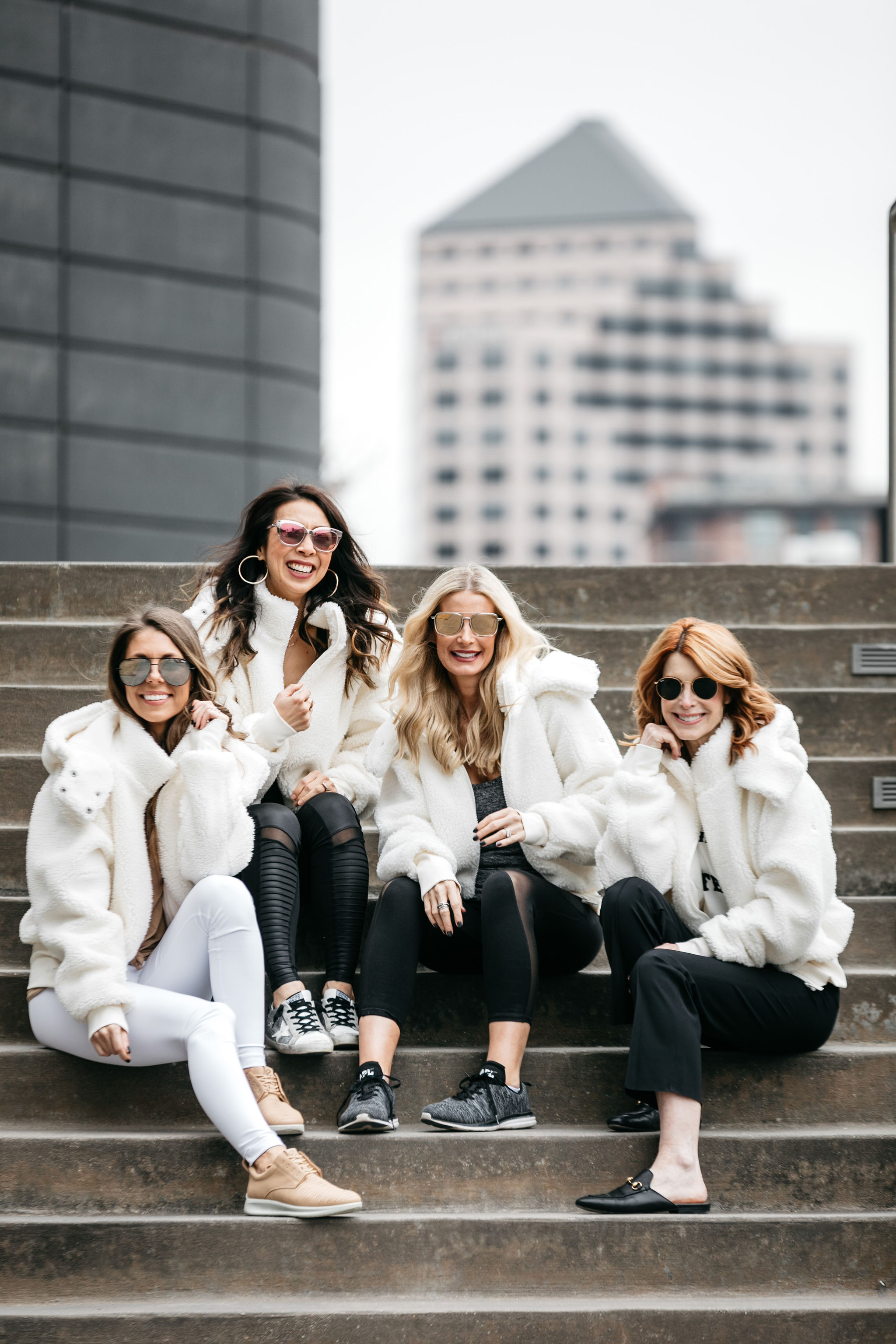 Dallas bloggers wearing the best athleisure wear