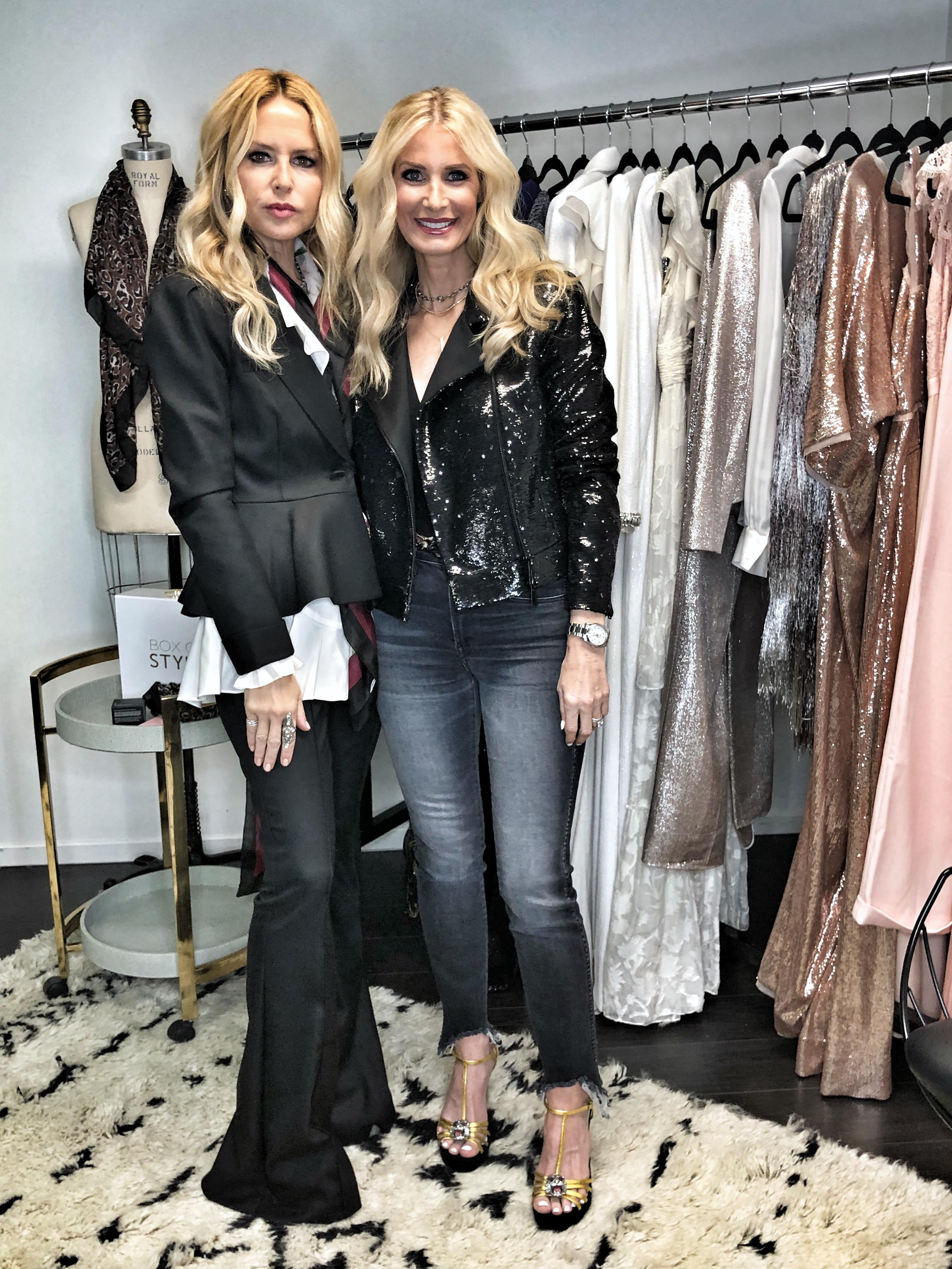 Rachel Zoe with Dallas fashion blogger So Heather -  Video With Rachel Zoe