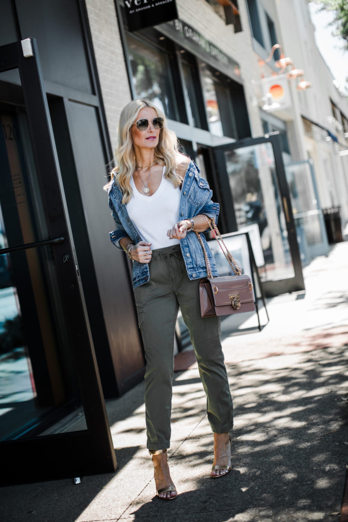 how to style green army pants