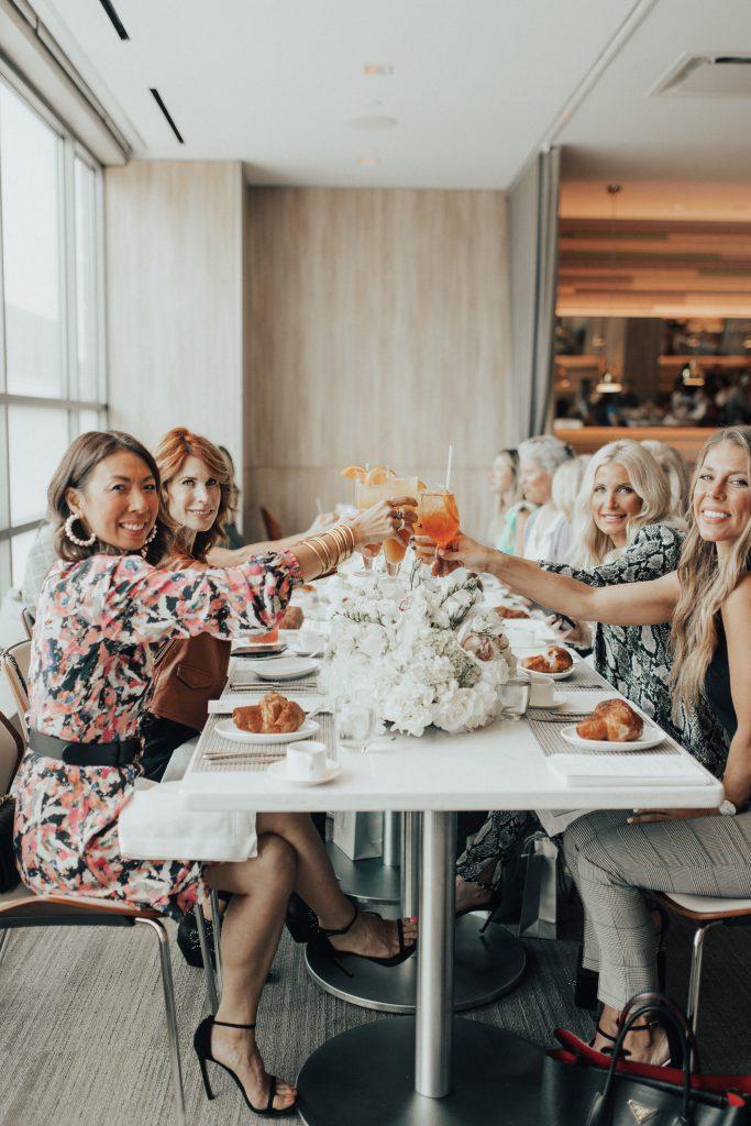 Dallas bloggers dining at Neiman Marcus