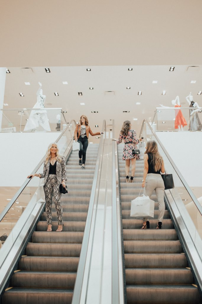 Dallas bloggers shopping at Neiman Marcus