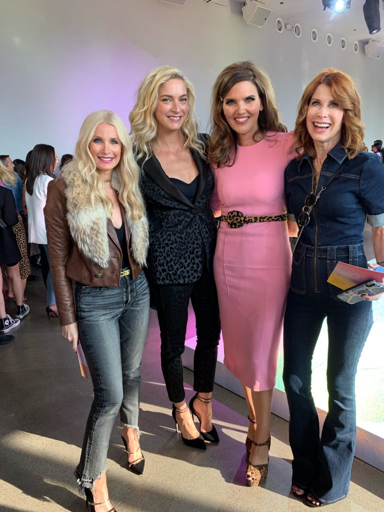 Dallas influencers at the Veronica Beard fashion show