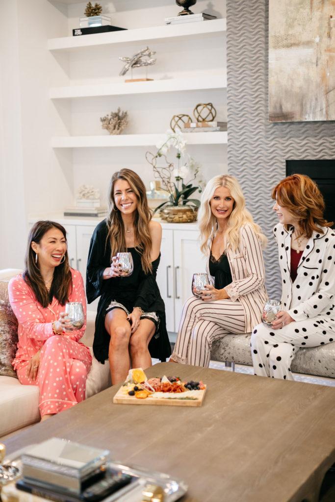 Dallas women wearing Soma pajamas