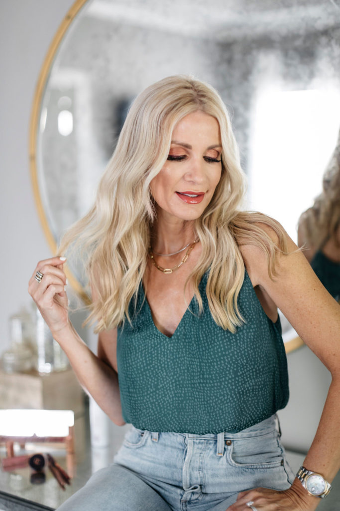 Dallas blogger sharing favorite hair products from the Nordstrom Anniversary Sale