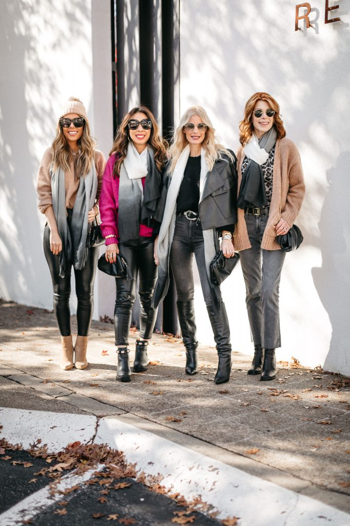 Chic at every age sharing an elevated style look by Rachel Zoe
