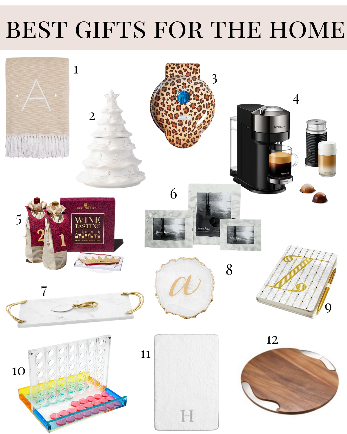 Best Gifts For the home gift guide from Bloomingdales