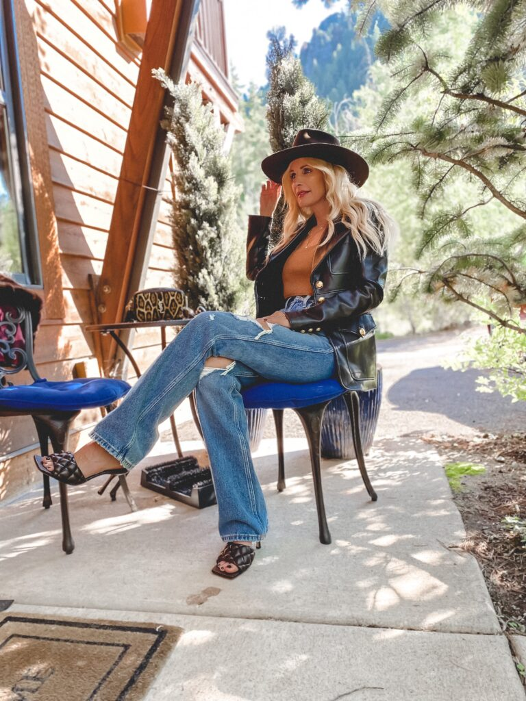 chic looks from aspen Colorado mountain trip